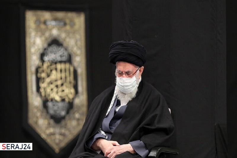 مراسم عزاداری حضرت فاطمه زهرا(س) با حضور رهبر انقلاب برگزار شد