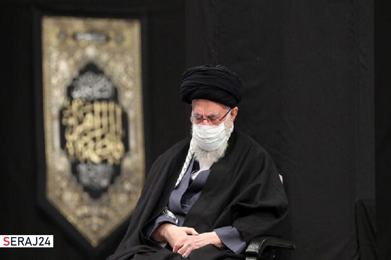 آخرین شب مراسم عزاداری حضرت زهرا (س) با حضور رهبر انقلاب