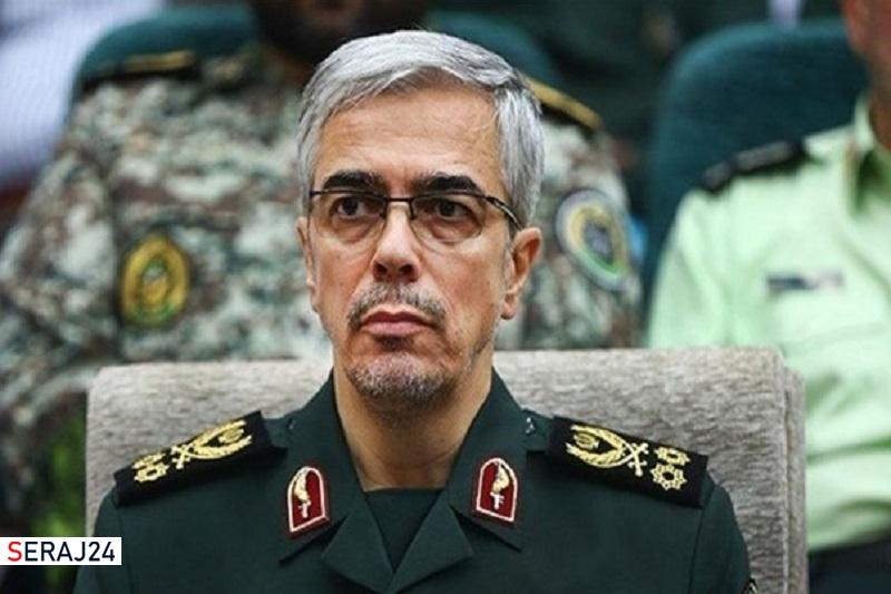 پیام تبریک سرلشکر باقری به رهبر انقلاب در پی برگزاری موفق رزمایشهای ارتش و سپاه