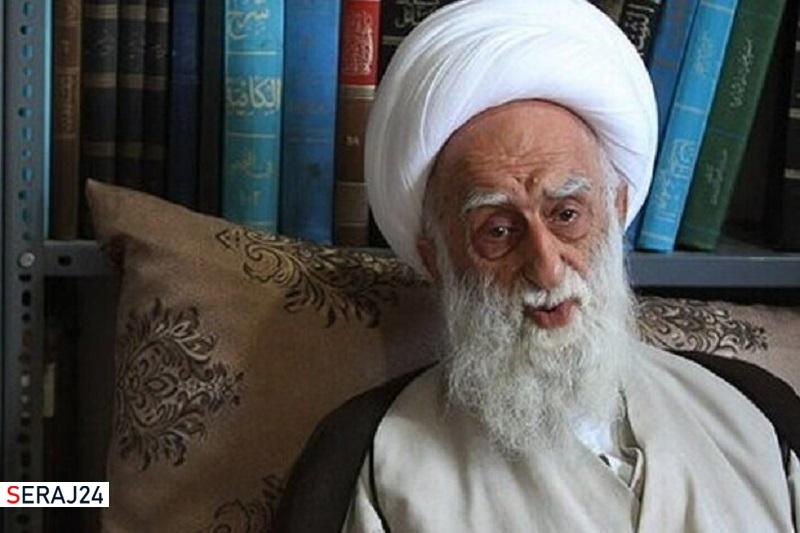 آیت الله عبدالله نظری« خادم الشریعه» دعوت حق را لبیک گفت
