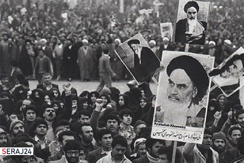 حضور پرشور مردم همدان در مراسم استقبال از امام خمینی(ره)