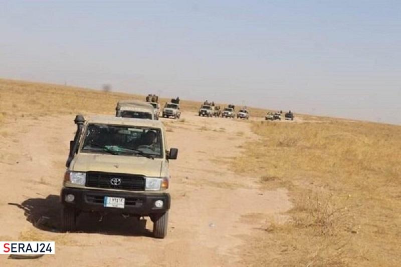 ۵ نیروی «حشد شعبی» در محور شرقی «دیالی» به شهادت رسیدند