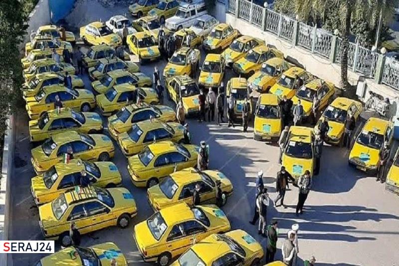 تاکسیهایی که به عشق انقلاب به خط شدند