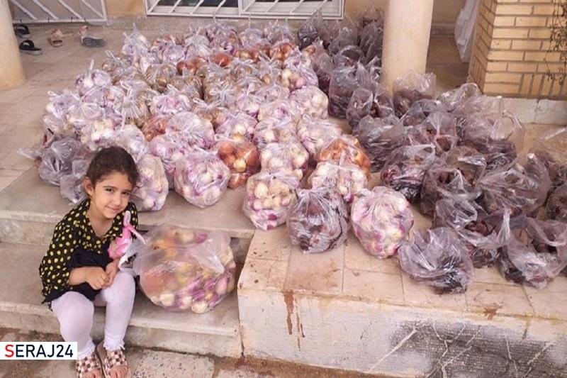 توزیع روزانه ۳ تن میوه و ترهبار به همت جهادگران اهوازی