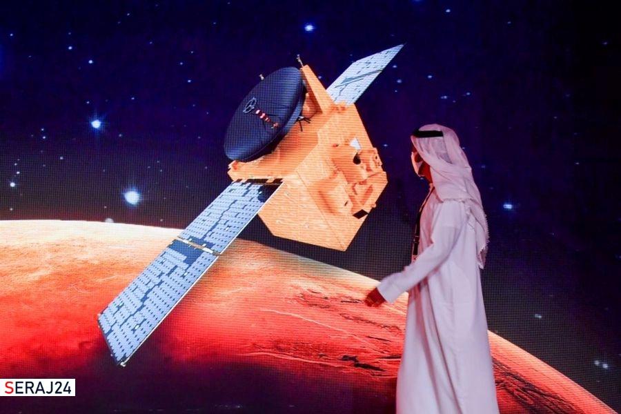 فرق فعالیت فضایی ایران و امارات
