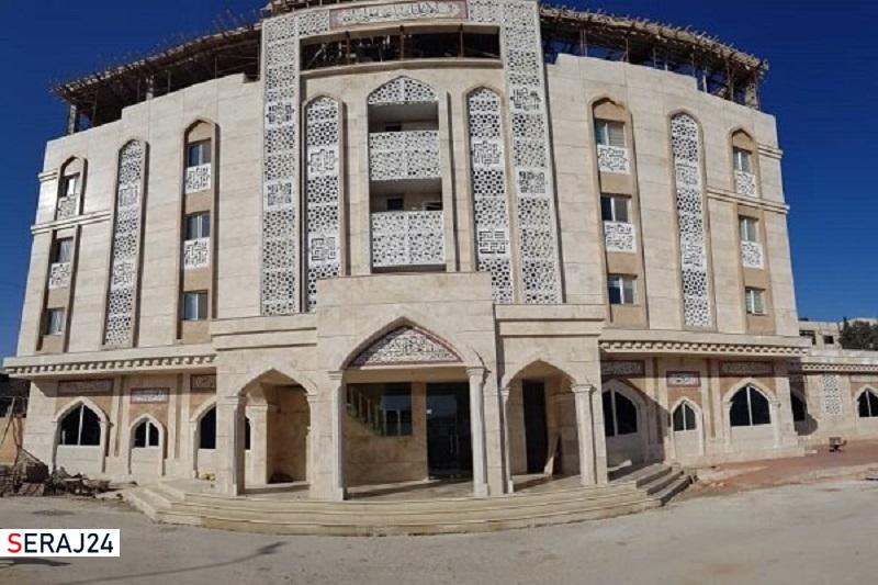 مهمانسرای حضرت زینب (س) در سوریه به بهره برداری رسید