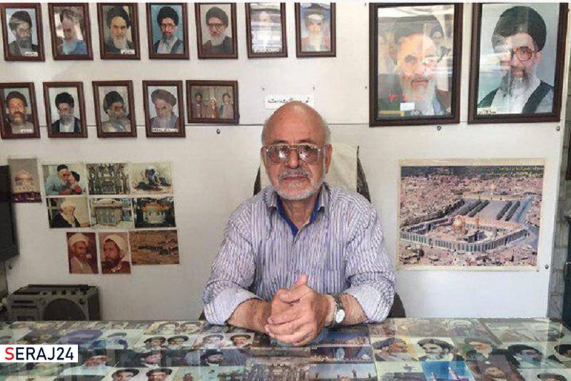 هنرمند انقلابی و عکاس امام خمینی (ره) درگذشت