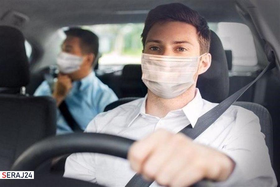 ویدئو/آیا جریمه رانندگان فاقد ماسک توسط دوربینهای پمپ بنزین واقعیت دارد؟