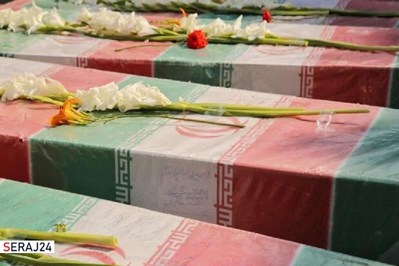 مراسم تشییع ۳ سرباز گمنام امام زمان(عج) در زاهدان برگزار شد