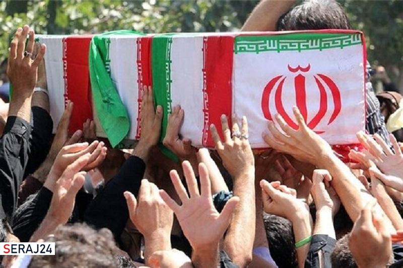 جزییات تشییع پیکرهای مطهر ۱۰ شهید دوران دفاع مقدس در مازندران
