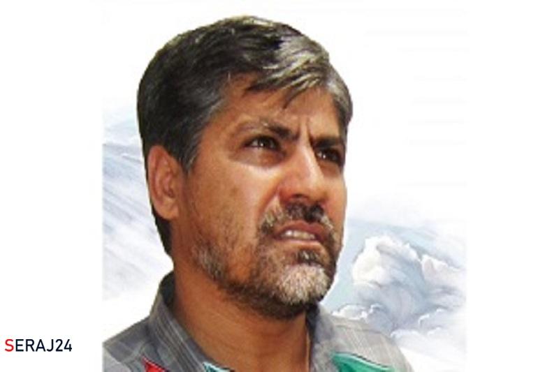 برگزاری مراسم تشییع پیکر فرمانده جبهه میانی تفحص شهدا در میانه