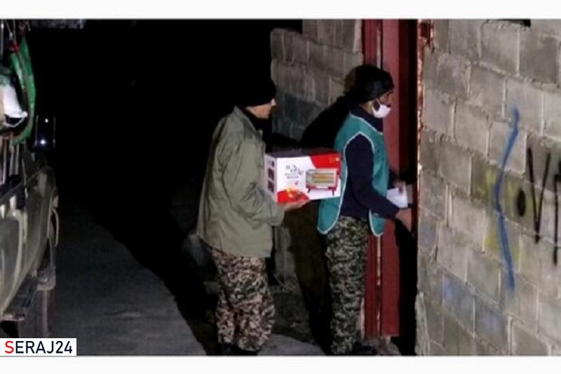 هزار بخاری برقی توسط بنیاد علوی به شهر زلزله زده سی سخت رسید