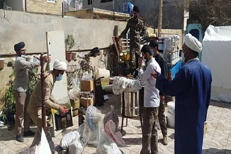 حضور ۱۰۰ روحانی جهادی برای کمک به زلزلهزدگان سیسخت