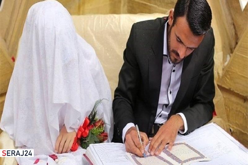افزایش ۵ درصدی ازدواج بعد از ۲۵ سال در کشور