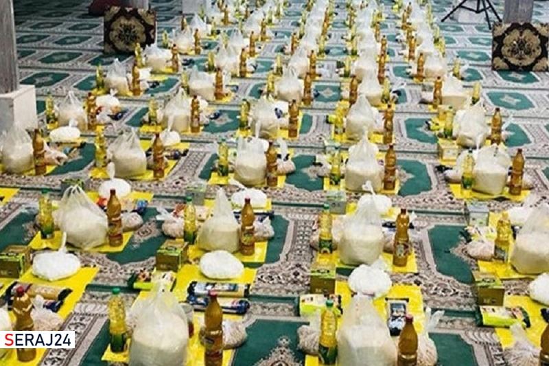 توزیع ۲۲ هزار بسته معیشتی در طول اجرای طرح شهید سلیمانی در اردبیل