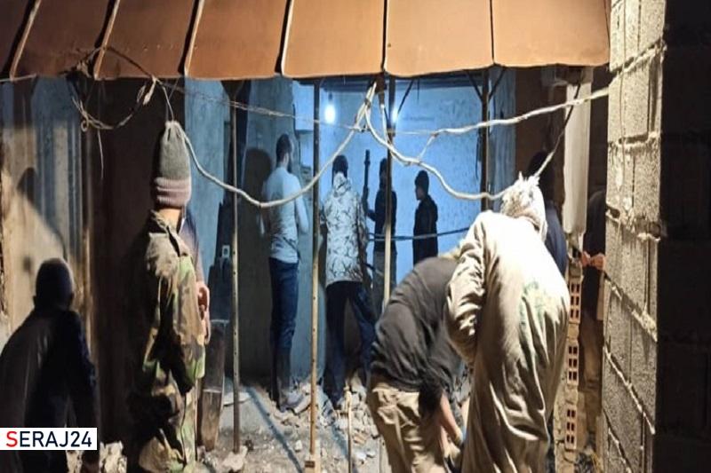 ساخت خانه محروم قبل از اربعین به نیت شهید مصطفی نوروزی