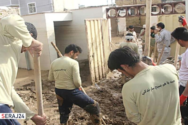 فعالیت ۲۲ گروه جهادی بسیج دانشجویی آذربایجانشرقی در ایام نوروز