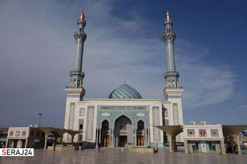 مسجدی زیبا در قم که به دستور پدر امام عصر(عج) ساخته شده است