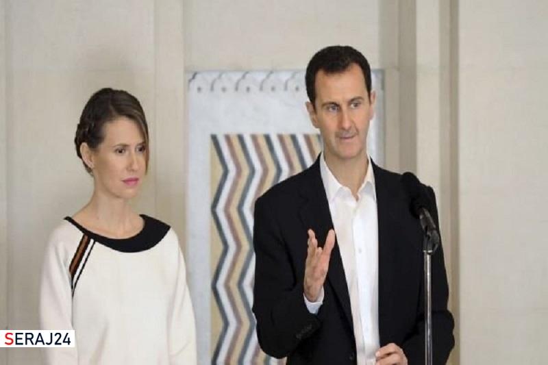 رهایی کامل بشار اسد و همسرش از چنگال کرونا