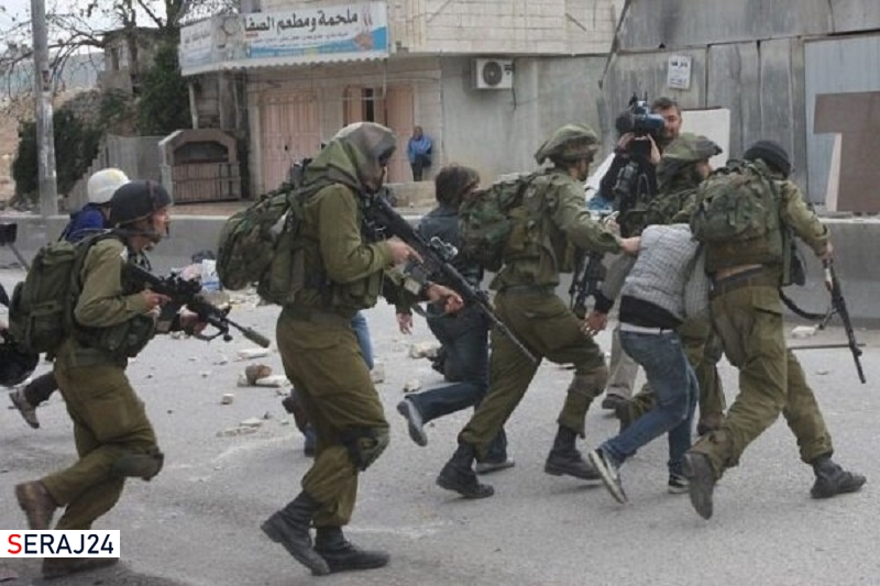 موج گسترده بازداشت فلسطینیها در مناطق مختلف کرانه باختری