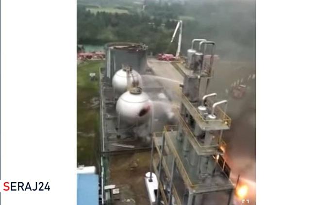 انتشار یک فیلم قدیمی از انفجار در چین بهجای حادثه اخیر نطنز