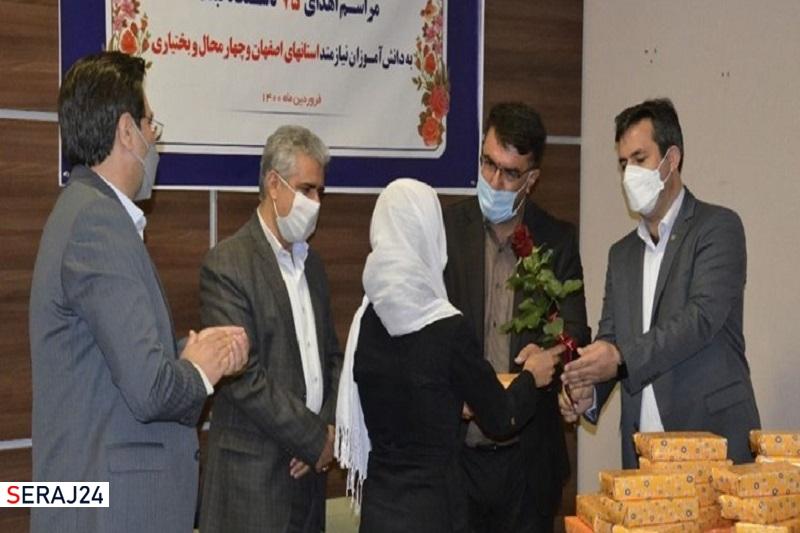 اهدای ۴ هزار تبلت به دانشآموزان تحت حمایت کمیته امداد اصفهان