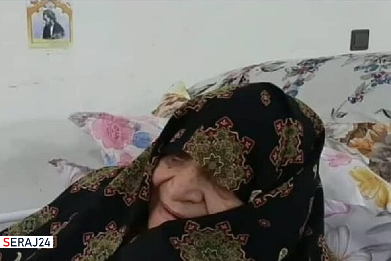 همسر شهید نواب صفوی آسمانی شد