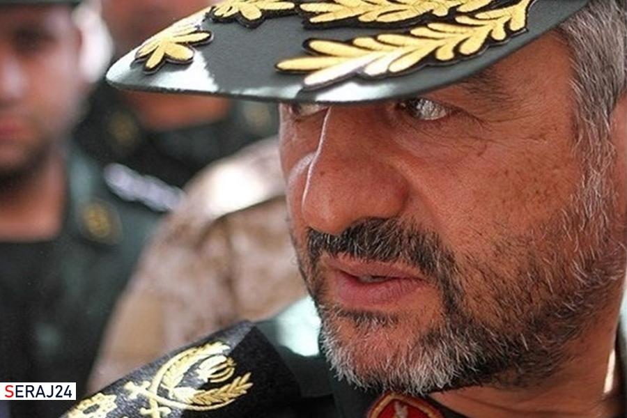 سرلشکر جعفری شهادت سردار حجازی را تسلیت گفت