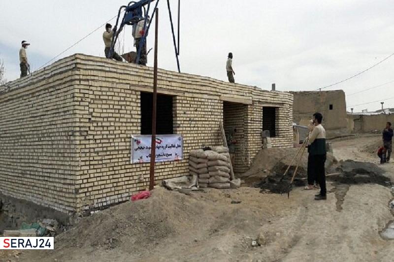 ساخت خانه برای محرومان تکاب آغاز شد