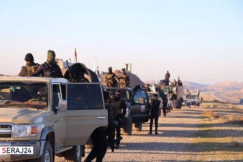 عملیات گسترده «حشد شعبی» عراق در محور جنوبی «سامراء»