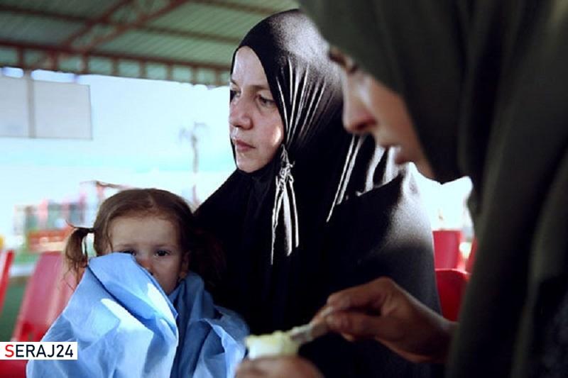 پخش مستندی درباره زنان و کودکان گرفتار دست داعش در پرستیوی