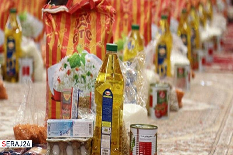 ۹۹۹ بسته غذایی در رودان توزیع شد