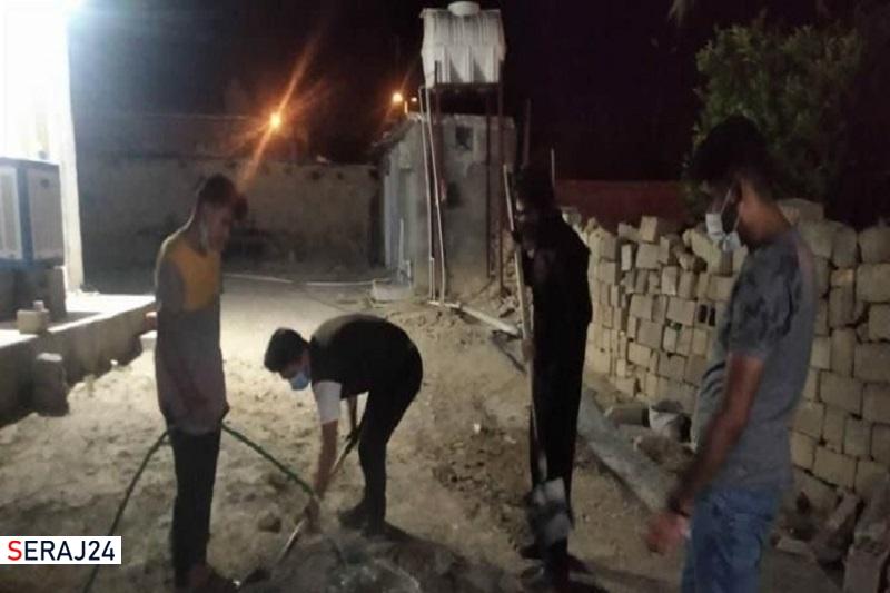 گروه جهادی شهید تقوی؛ سنگر خدمت دانشآموزان سوق