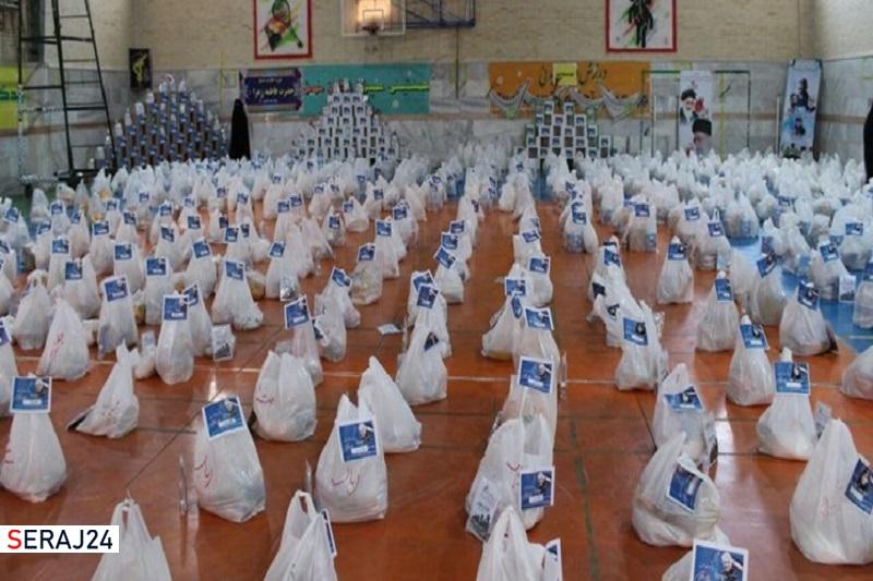 توزیع ۴۰۰ بسته معیشتی در شاهرود