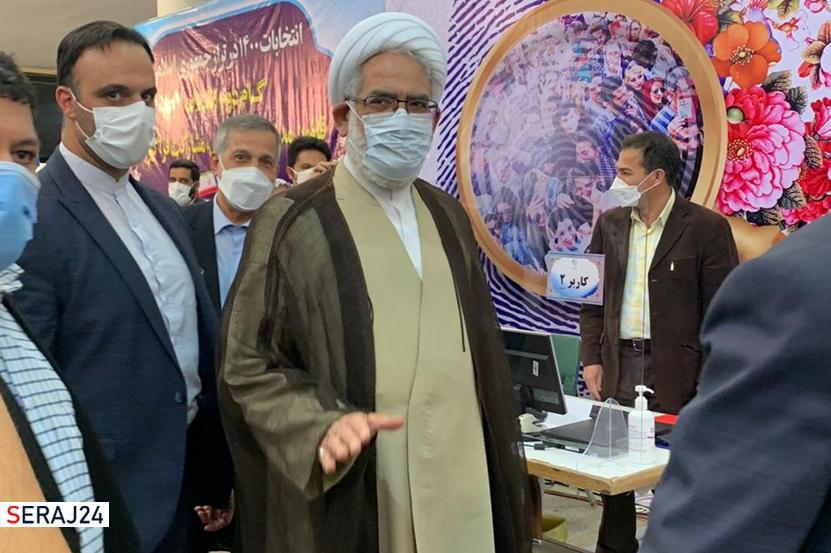 دادستان کل کشور از ستاد انتخابات بازدید کرد