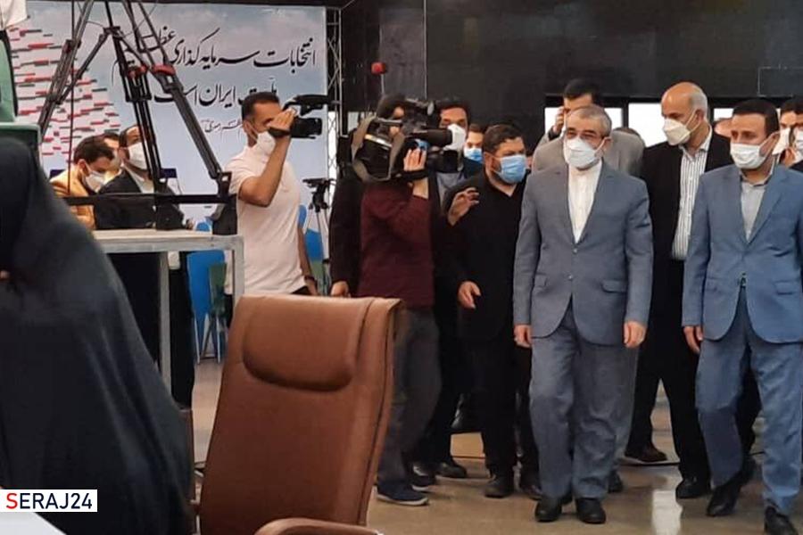 «کدخدایی» از ستاد انتخابات کشور بازدید کرد