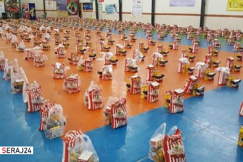 توزیع بیش از ۴۶ هزار بسته معیشتی در شهرستان تاکستان