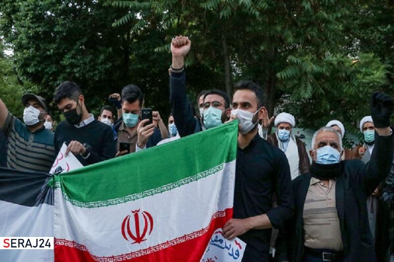 تهرانیها فردا در حمایت از ملت فلسطین تجمع میکنند