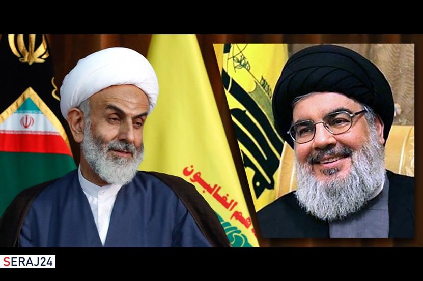پیام نماینده ولی فقیه در سپاه قدس به دبیر کل حزب الله لبنان