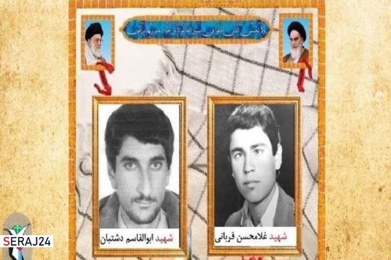 پیکر ۲ شهید تازه تفحص شده دفاع مقدس در مشهد تشییع میشود
