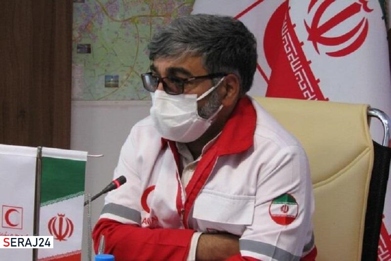 هلال احمر به ۳ حادثه در استان سمنان امداد رسانی کرد