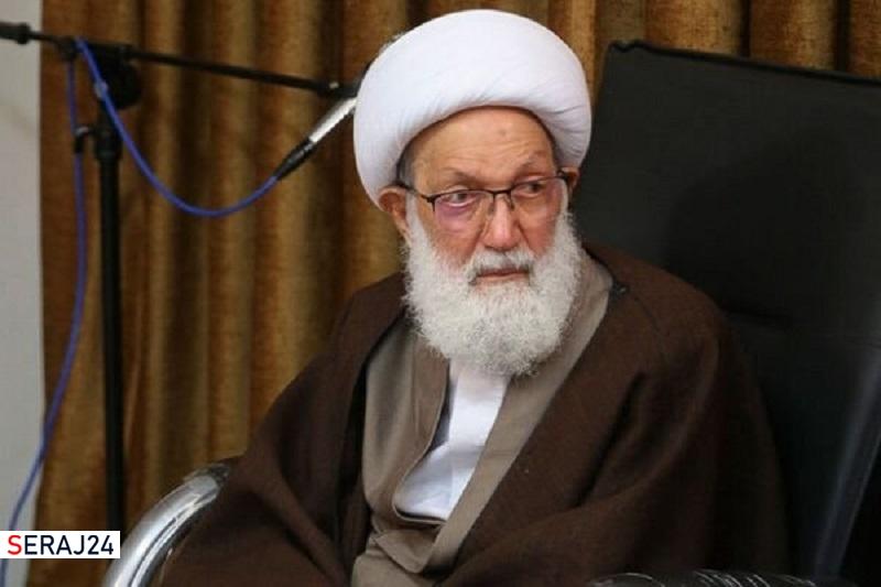 واکنش آیت الله عیسی قاسم به اقدام سخیف سفارت آمریکا در بحرین