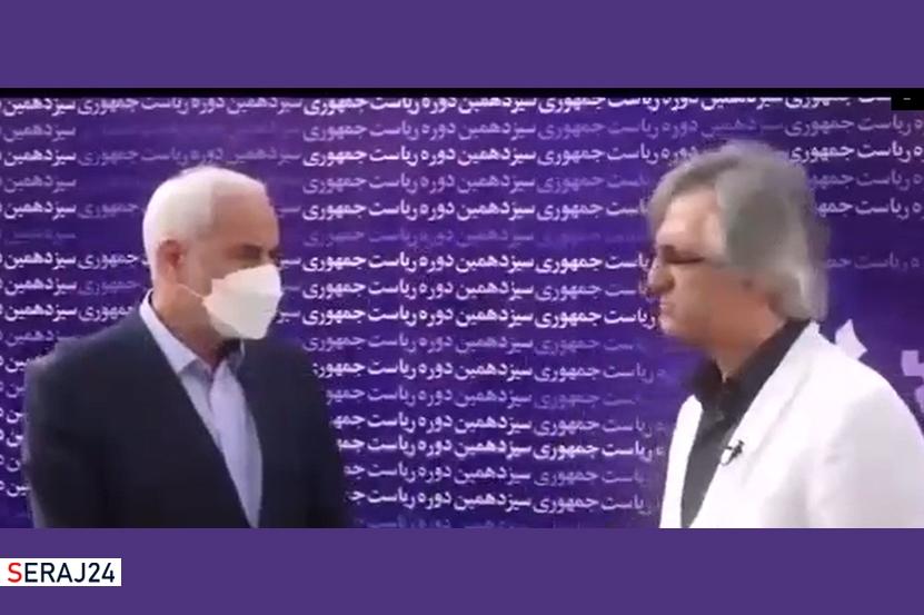 ویدئو/ فیتیله پیچ شدن مهر علیزاده در 1 دقیقه