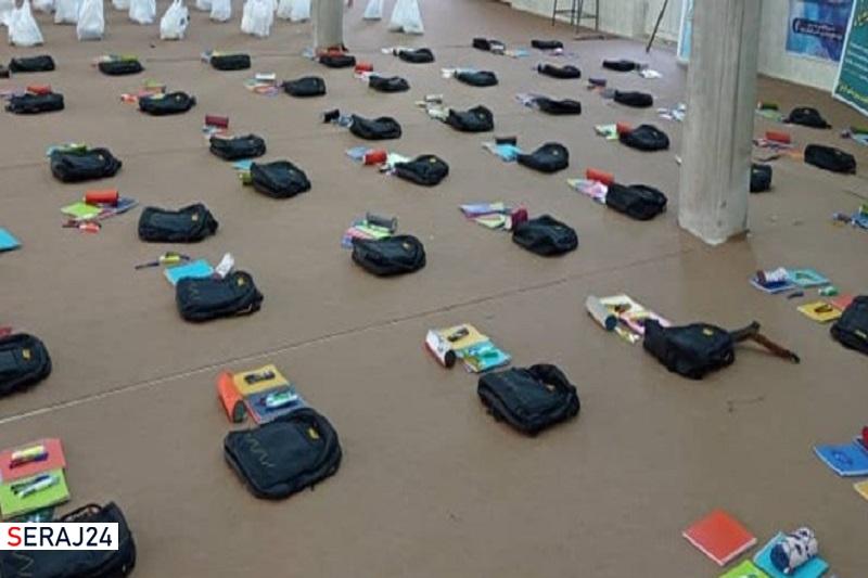 اهدای دو هزار بسته کمک مومنانه و هزار بسته نوشتافزار