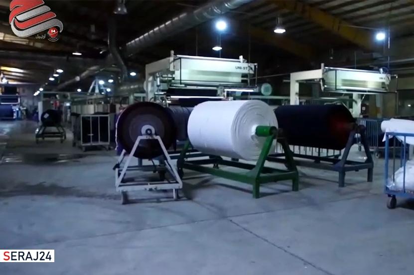 ویدئو/ یکی از ۲۰۰۰ واحد تولیدی احیاء شده در اردبیل / قسمت دوم