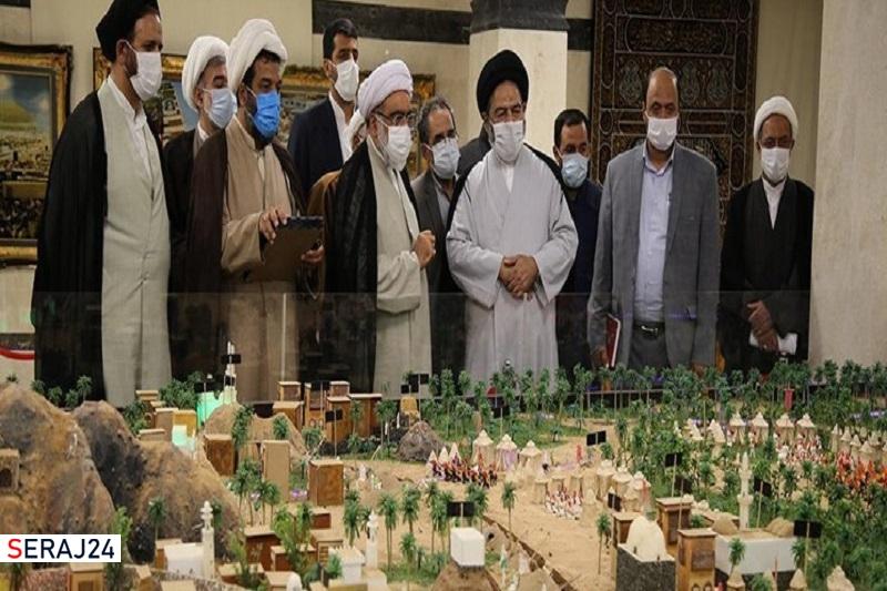 استقبال از ساخت ماکت هفت شهر عشق در حرم امام رضا (ع)