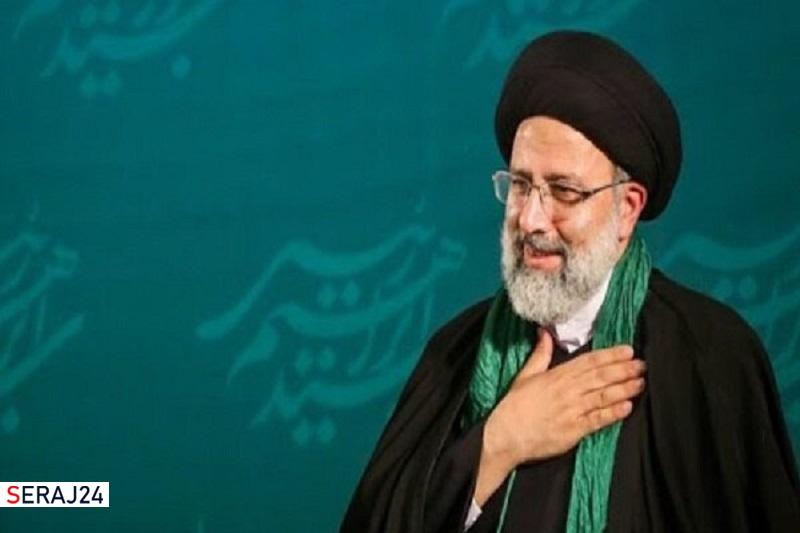 مواکب اربعین حسینی (ع) کرمانشاه از سید ابراهیم رئیسی حمایت کردند