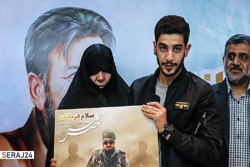همسر سردار شهید محمد ناظری دار فانی را وداع گفت