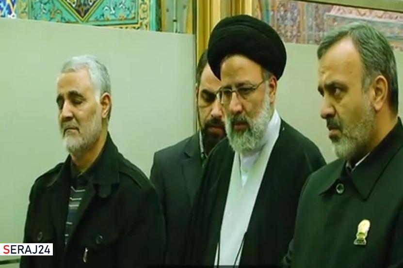 ویدئو/ شهید سلیمانی و رئیسی؛ رفاقت هایی از جنس آرمان و جهاد