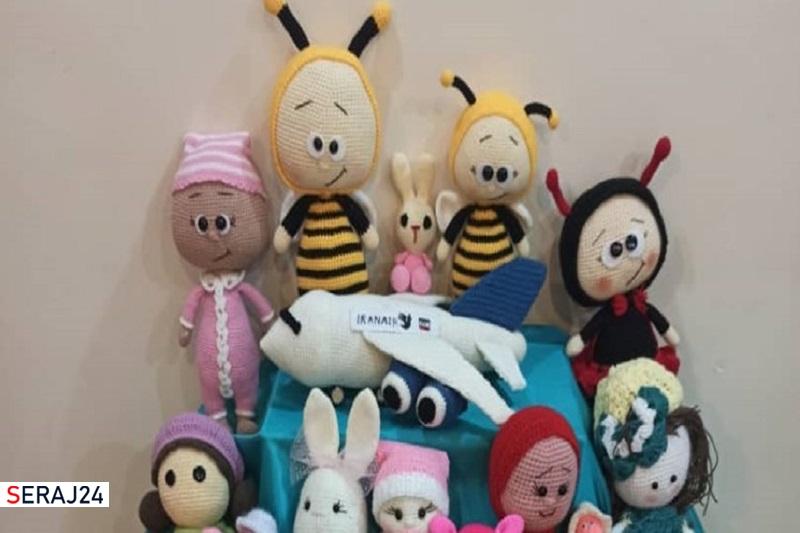 نذر جالب عروسکبافان/ هدیههای عروسکی به کودکان محروم